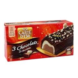 CDO BUCHE 3 CHOCOLATS 1L